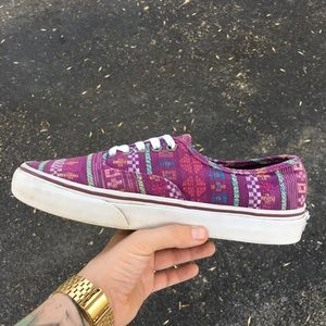 Vans Shoes - Vans Purple Low-Top Classic